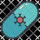 Virus Capsule Icon