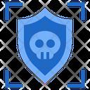 Virus Cyber Dager Hacker Icon