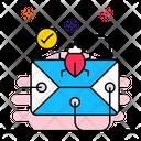 Virus Detected Malware Detected Threat Detected Icon