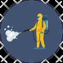 Virus Disinfection Icon
