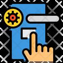 Hand Coronavirus Virus Icon