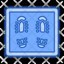 Rug Virus Coronavirus Feet Icon