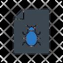 Virus Malware Document Icon