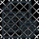 Bug Robot Robot Txt Icon