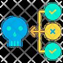 Virus Flow Virus Checkup Threat Backup Icon