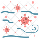 Virus Air Disease Icon