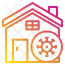 Virus In Home Icon