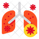 Pnemonia Lung Organ Icon