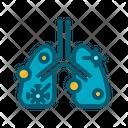 Respiratory Organ Disease Icon