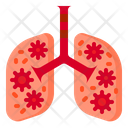 Virus In Lungs Icon