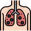 Virus In Lungs Lung Lungs Icon