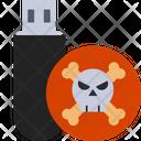 Virus In Usb Icon