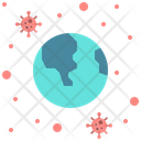 Virus In World Icon