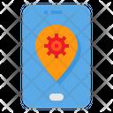 Virus Location Icon