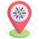 Virus Location Icon