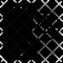 Virus Mobile Transmission Icon