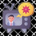Coronavirus News Virus Tv Icon