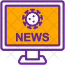News Alert Communication Icon