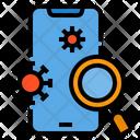 Smartphone Coronavirus Virus Icon
