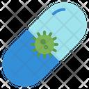 Virus Pill Icon