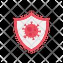 Virus Protected Covid Shield Coronavirus Icon