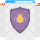 Virus Protected Webpage Icon