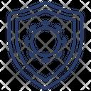 Virus Protection Antiviral Icon