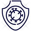 Protection Bacteria Covid Icon