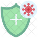 Shield Virus Coronavirus Icon