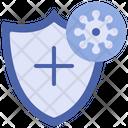 Virus Protection Shield Covid 19 Icon