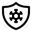 Antivirus Hygiene Shield Icon