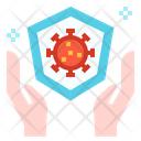 Virus Bacteria Healthcare Icon