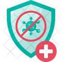 Protection Shield Safety Icon