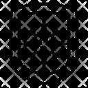 Protection Shield Coronavirus Icon