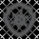 Virus Protection Hiv Icon