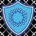 Virus Protection Virus Medical Icon
