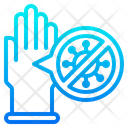 Virus Protection Gloves Icon