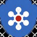 Shield Protection Epidemic Icon
