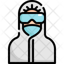 Virus Protective Suit Icon