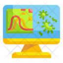 Virus Report Graph Report Icon