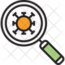 Virus Zoom Icon