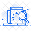 Virus Scan Virus Detection Bug Detection Icon