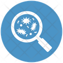 Virus Scanning Germs Research Microbial Icon