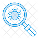 Bug Search Magnifier Icon