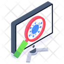 Virus Search Bacteria Search Bacteria Exploration Icon