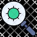 Virus Search Icon