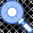 Scan Virus Lense Icon