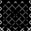Secure Hacking Virus Icon