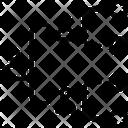 Virus Spread Chart Icon