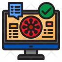 Virus Covid Report Icon
